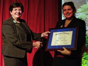 Visiting Professor Certificate of Appreciation